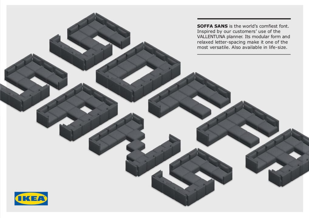 The worlds comfiest isometric font
