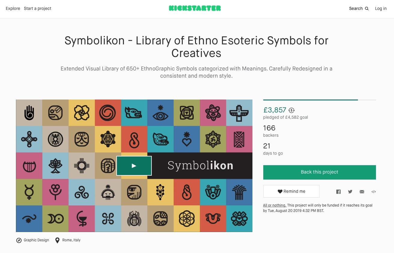 Symbolikon - Library of Ethno Esoteric Symbols for Creatives on Kickstarter
