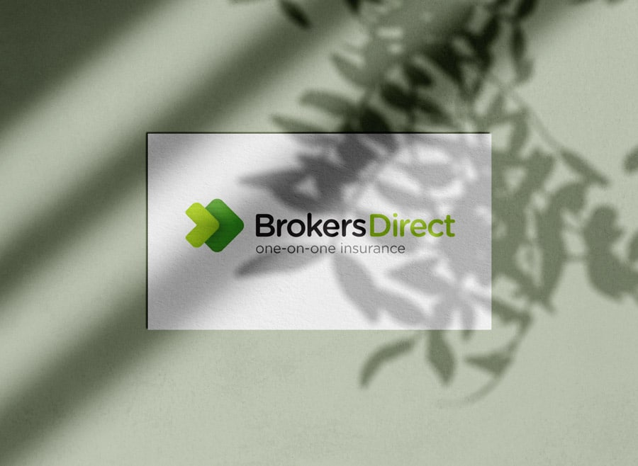 Brokers Direct Landlord Insurance Logo Designed by Freelance Logo Designer The Logo Smith