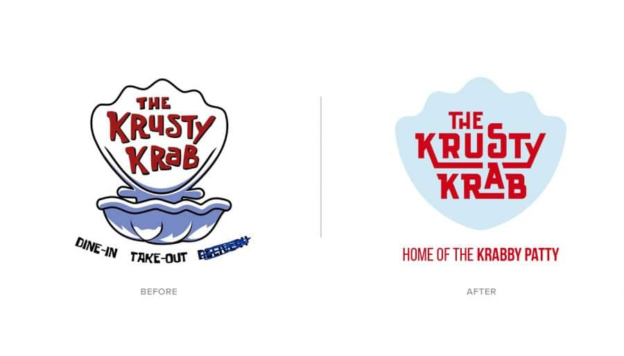 The Krusty Krab - SpongeBob SquarePants Fan Art Logo Design Tv Show
