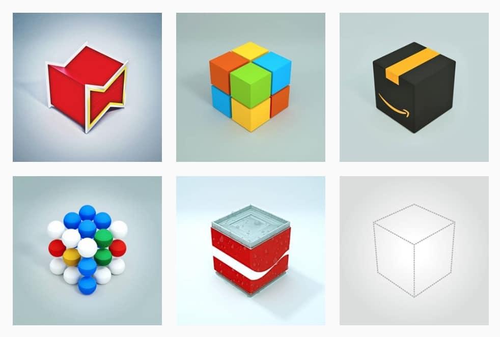 BrandingBlocks An Isometric Visual Identity Project by Yunke Xiao 1