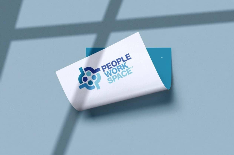 PeopleWorkSpace Logo Designed by The Logo Smith Freelance Logo Designer 4