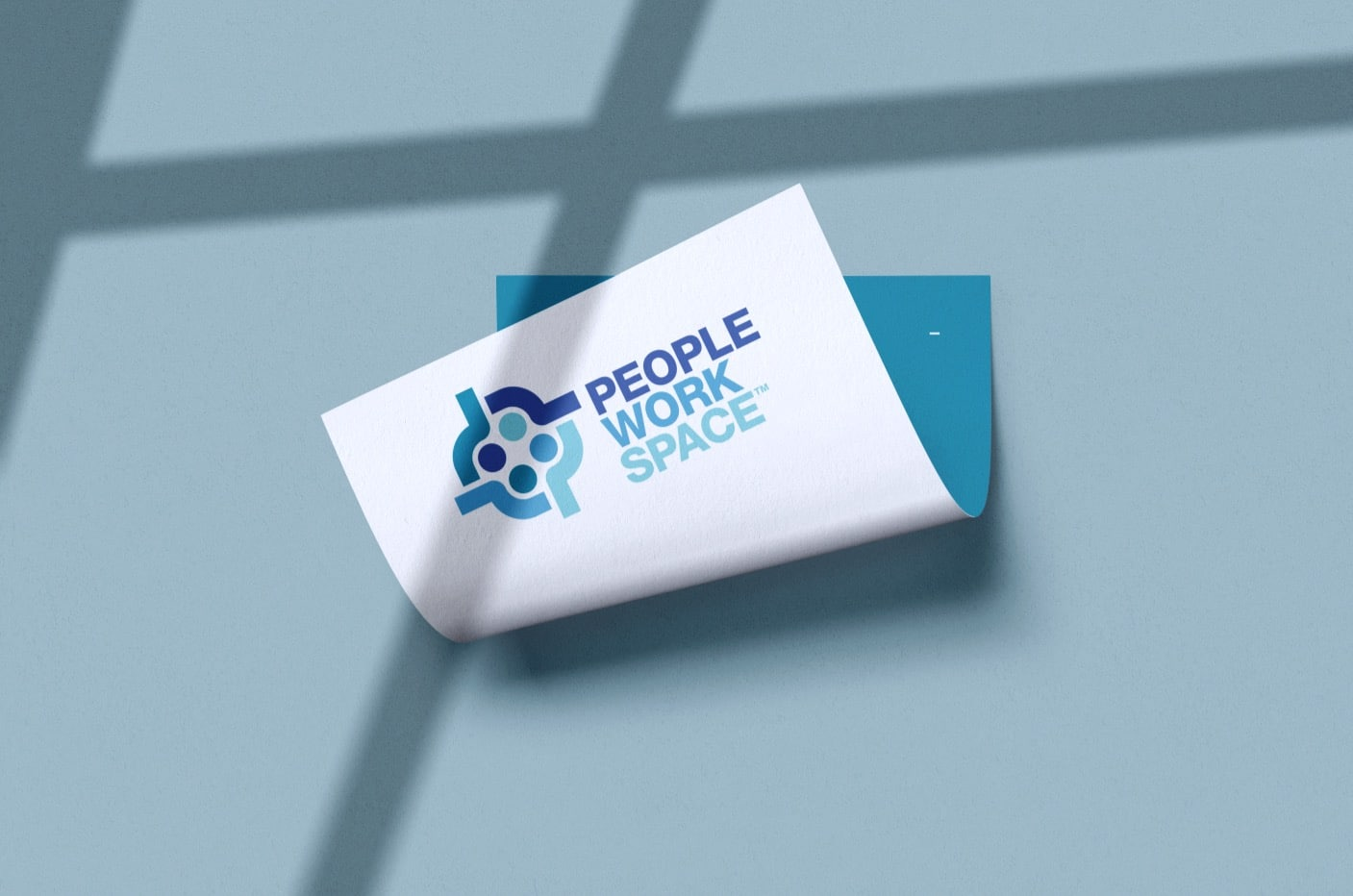 PeopleWorkSpace Logo Designed by The Logo Smith Freelance Logo Designer 4