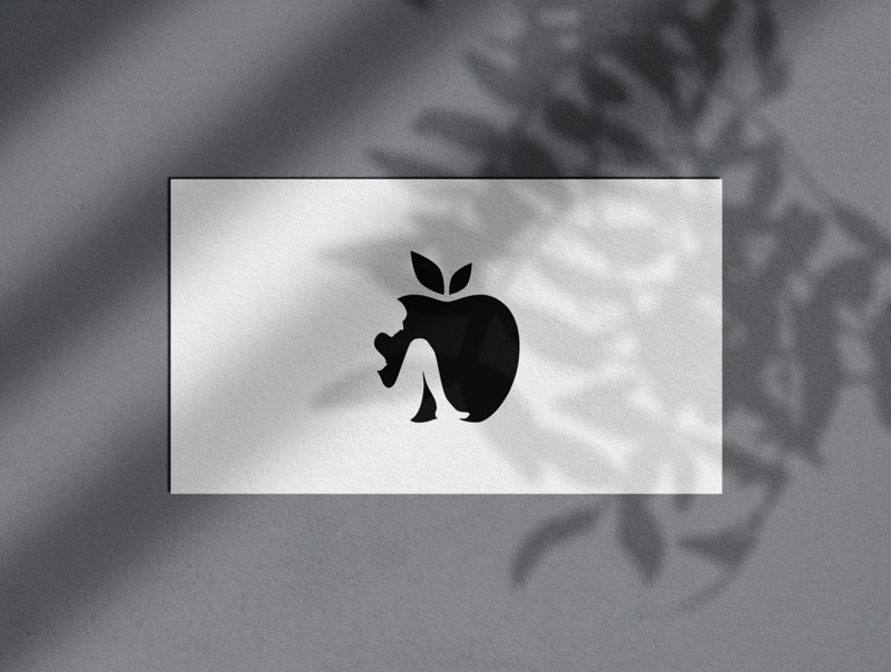 Apple & Eve Logo and Monomark Designed by The Logo Smith
