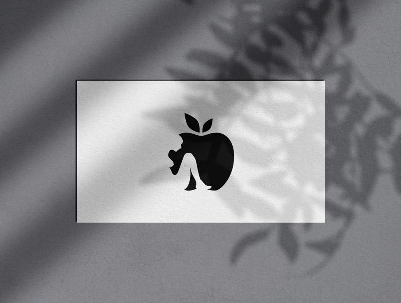 Apple & Eve Logo Design Process Designed by The Logo Smith