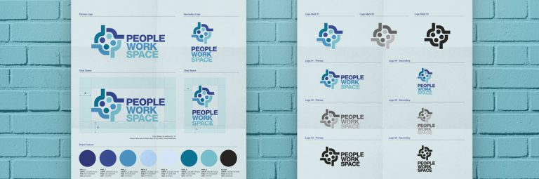 Brand Logo Guidelines and Logo Sheet Poster Template for Download Designed by The Logo Smith