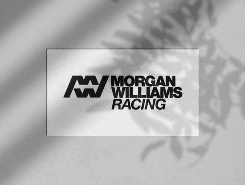 Morgan Williams Racing Logo-Designed by The Logo Smith Textured Portfolio 2019