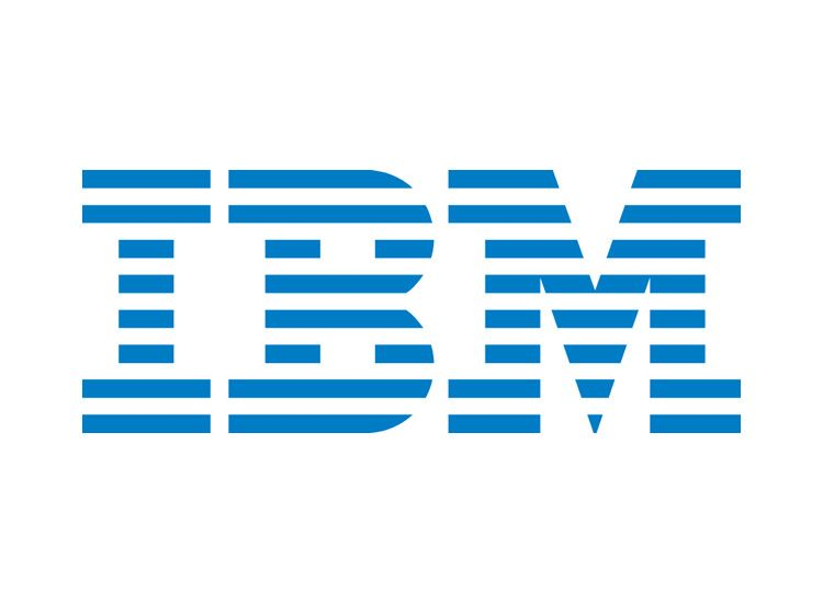 IBM 8-Bar Logo-The Difference between the Negative & Positive IBM Logo