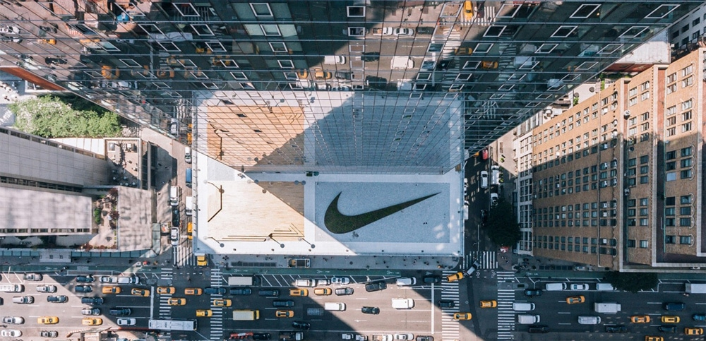 Nike NYC Headquarters Logo & Brand Concepts