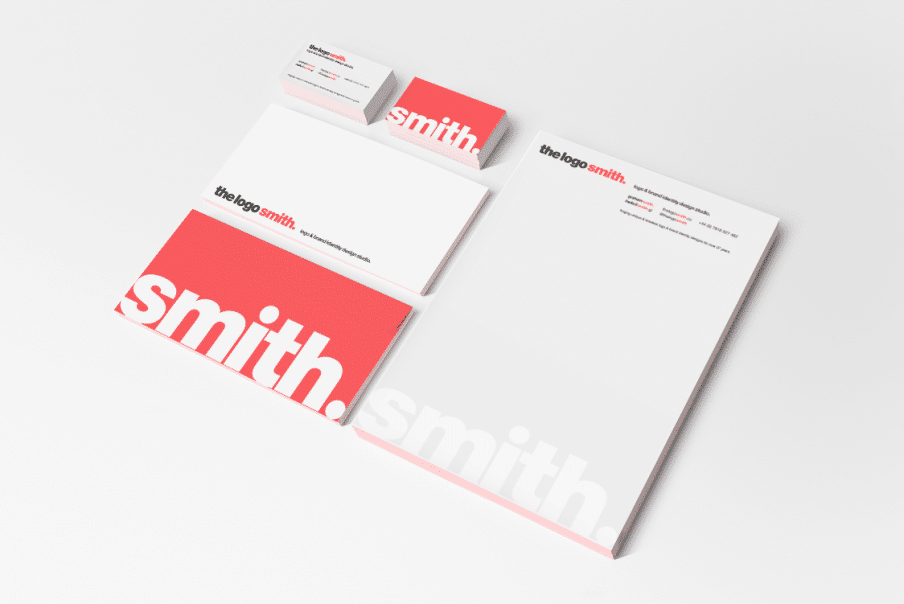 The Logo Smith Stationery Mock-up