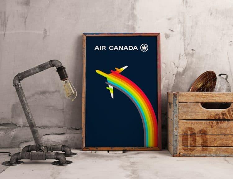 Vintage-Air-Canada-Logo-Poster-Frame-Mockup Dealjum