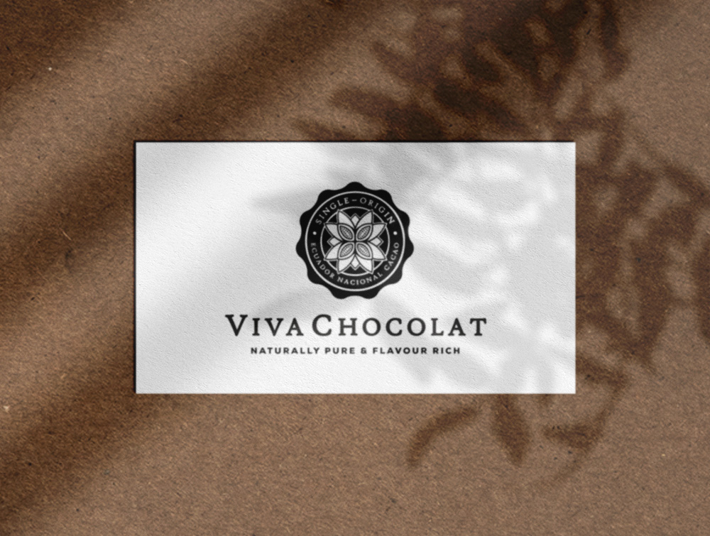 Viva Chocolat Logo & Couverture chocolate Brand Identity Designed by The Logo Smith