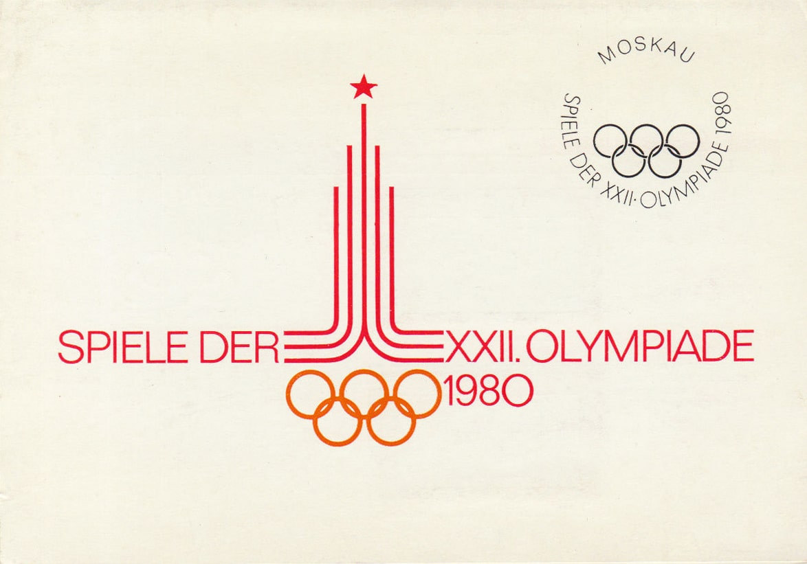 1980-Moscow-Summer-Olympic-Games-Postcard-Spiele-Der-XXii-Olympia