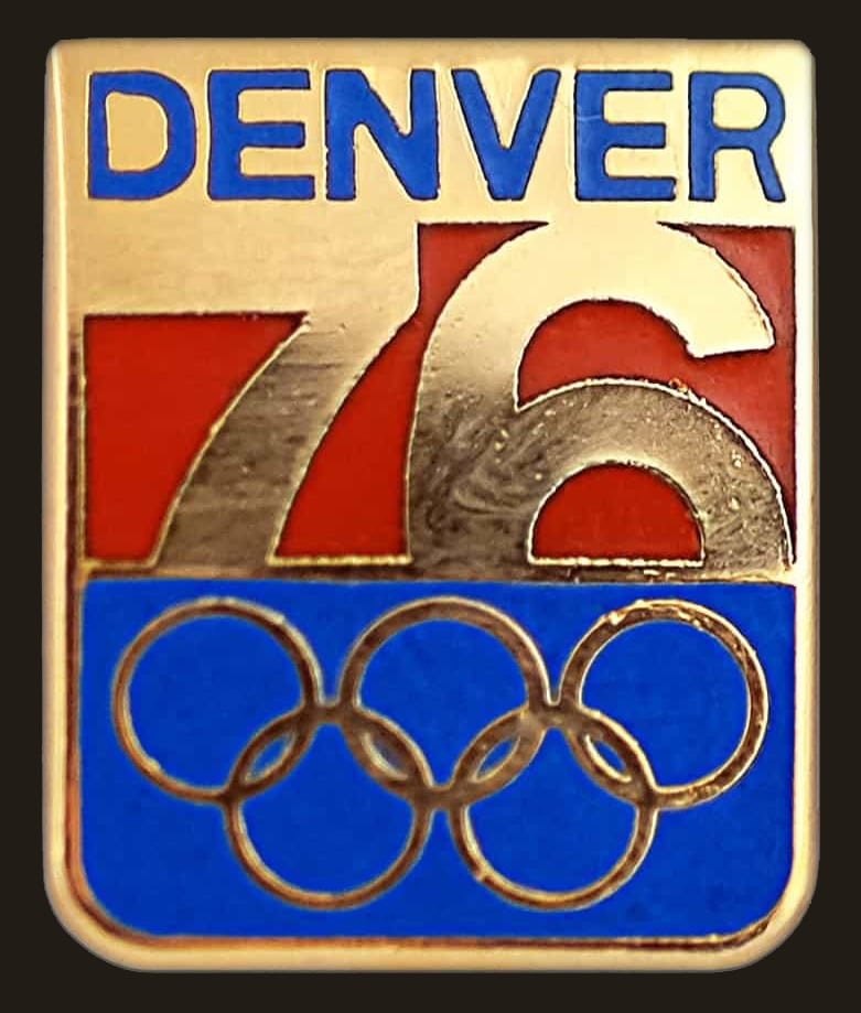Colorado Winter Olympic Bid Logo Pin