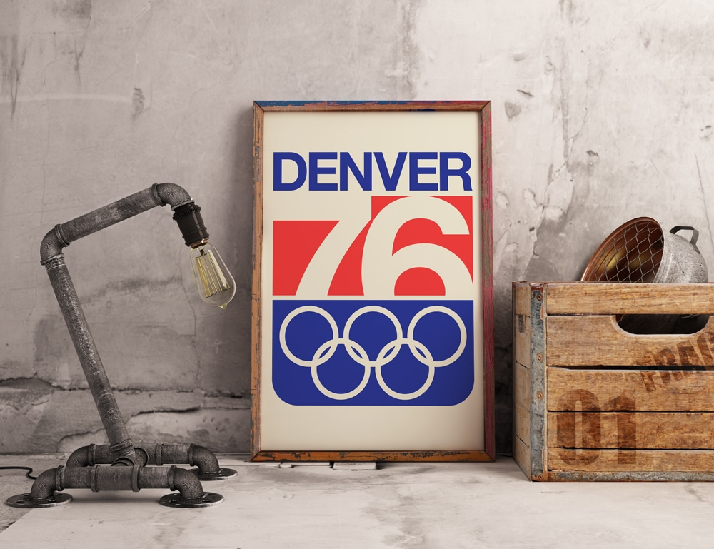 Download the Colorado Winter Olympic Games Poster & Logo