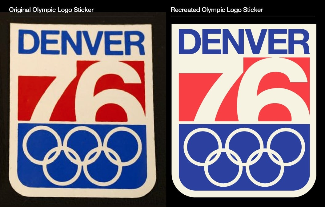 Denver, Colorado Winter Olympic Games 1976 Logo