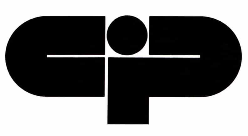 Logo for a business center, from Graphis Annual 73 - 74