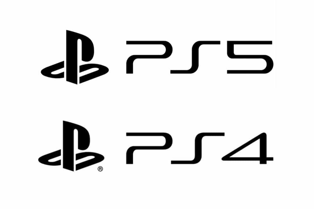 Sony PS4 and PS5 Logo Design
