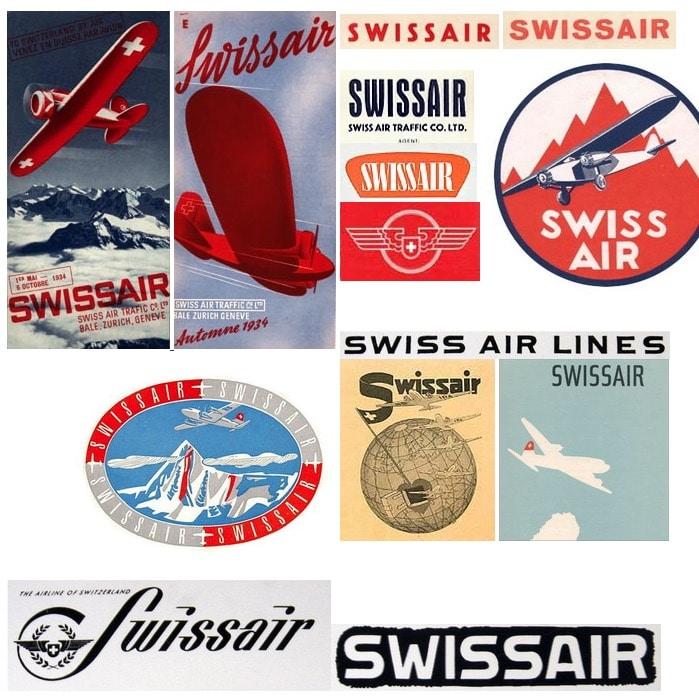 Swissair Logos 1931