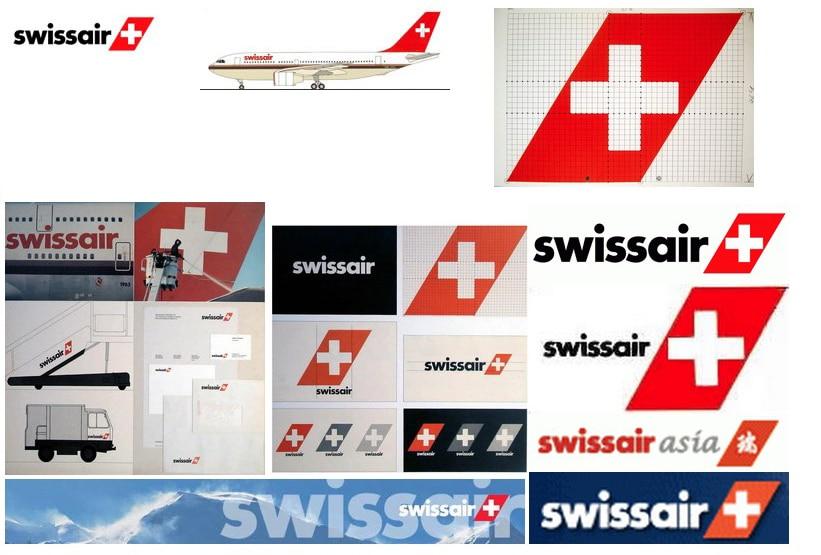Swissair Logos 1981-2002