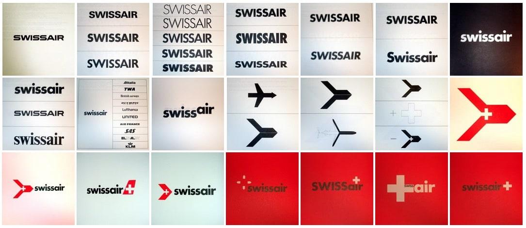 Swissair Logos 2000s