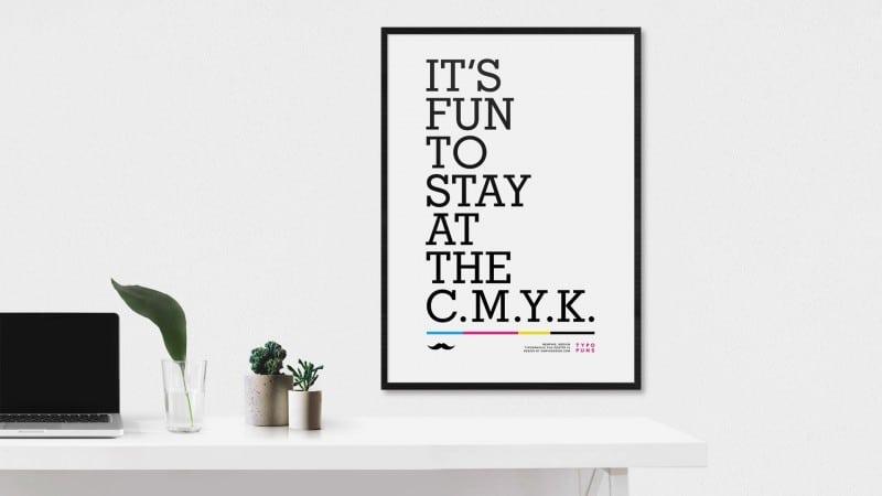 Typo Puns - Series of Fun Typographic Joke Posters by Gary Nicholson