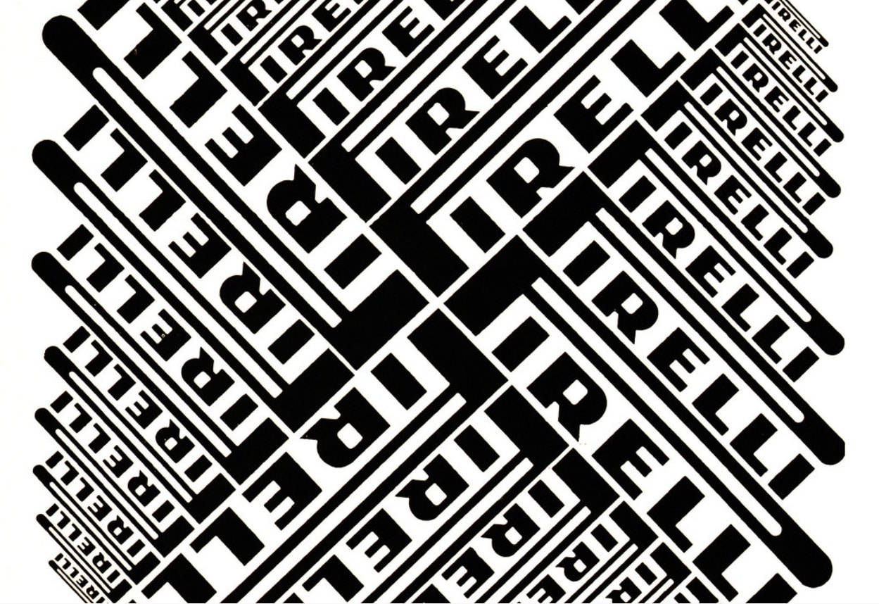 Christiane Beylier Typography Pattern From Graphis Annual 67/68