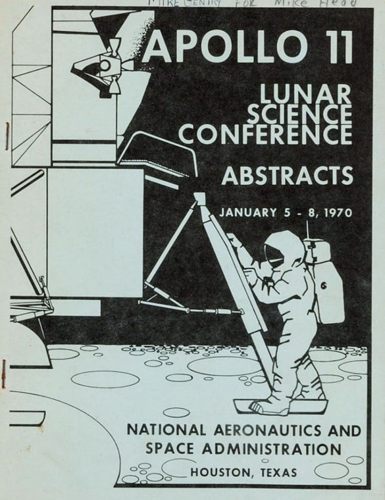Vintage NASA Space Publication Cover Designs From The US Space Program 3