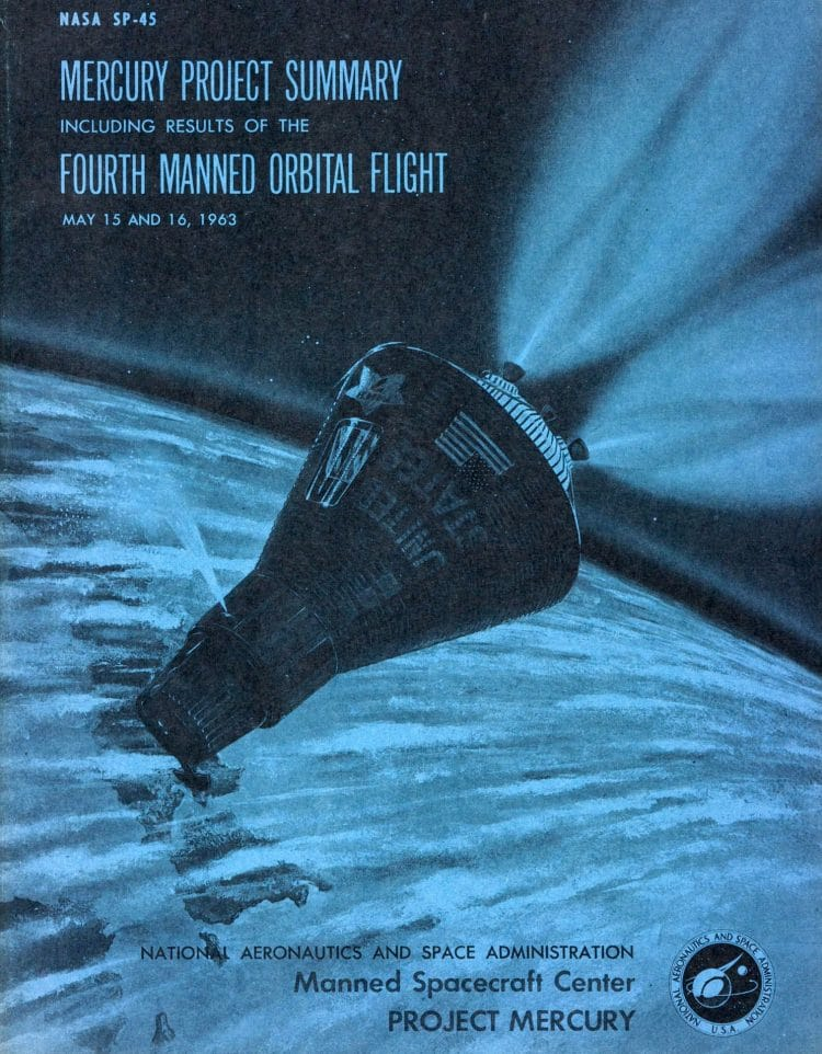 Vintage Space Publication Cover Designs From The US Space Program