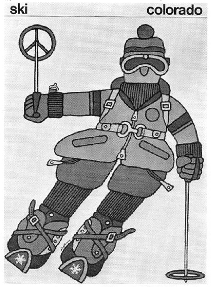 ski colorado designed by Gene Hoffman