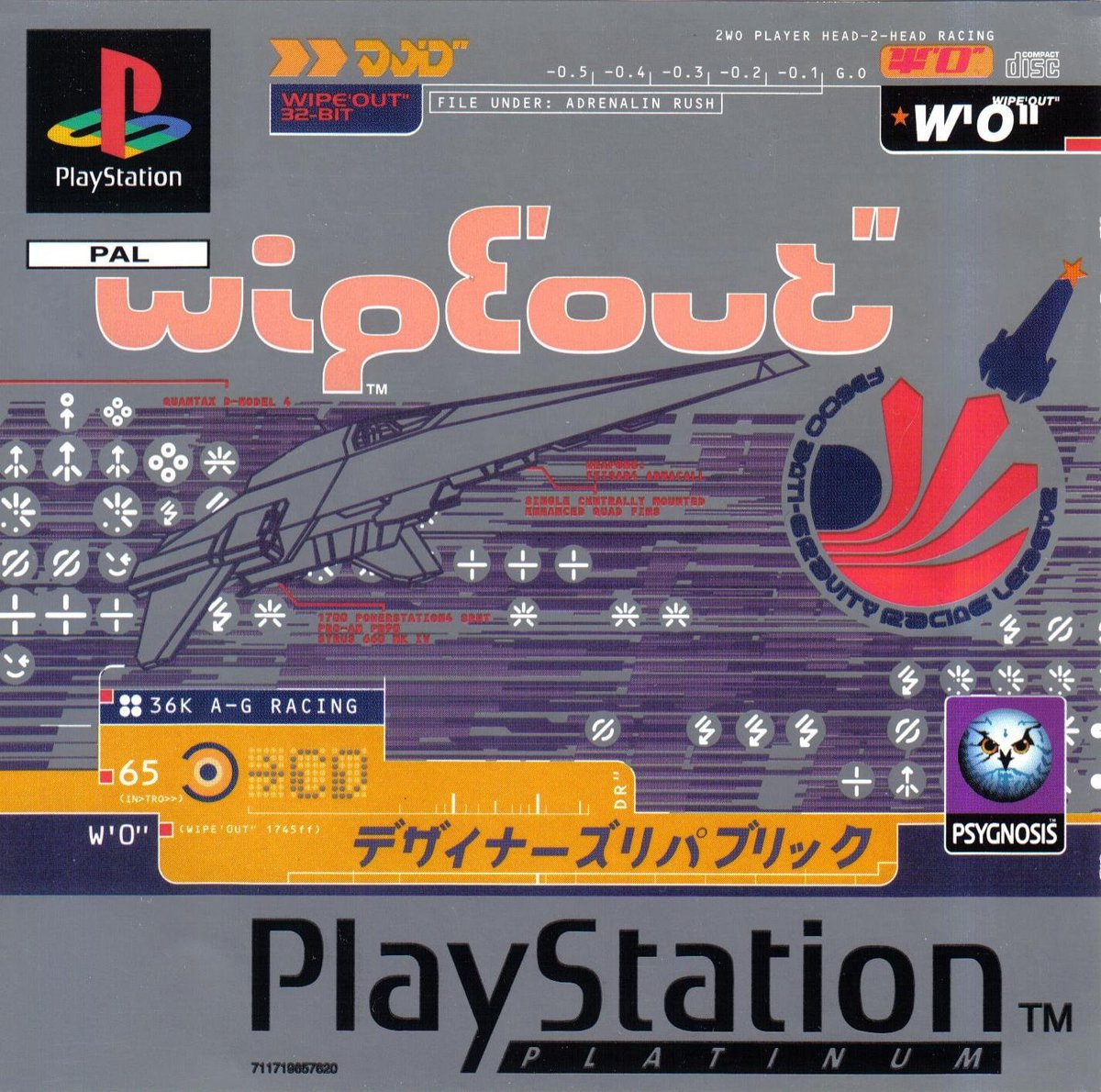Wipeout Playstation 1995
