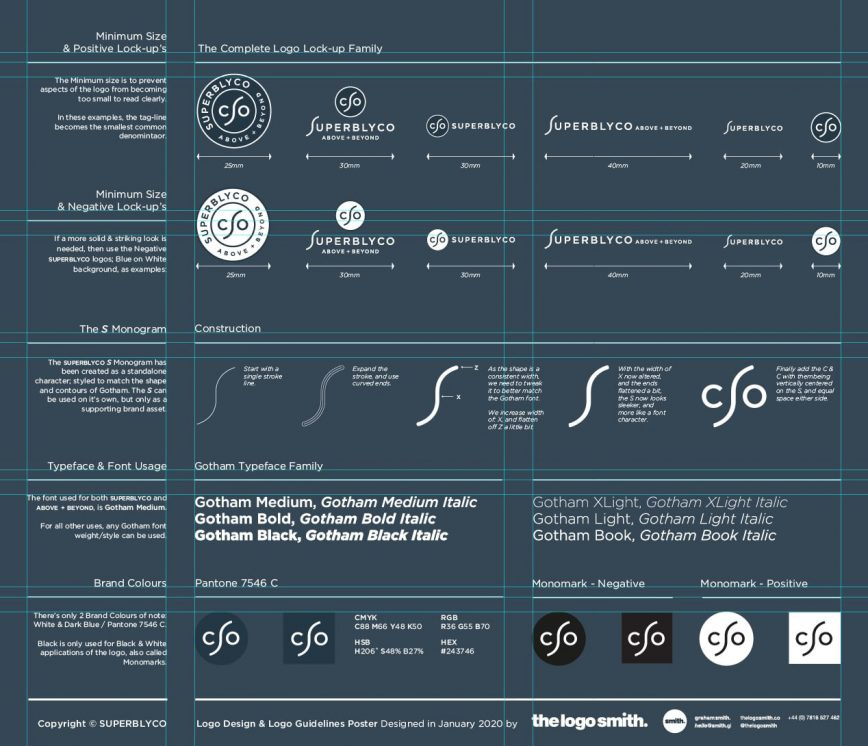 Logo Guidelines Template