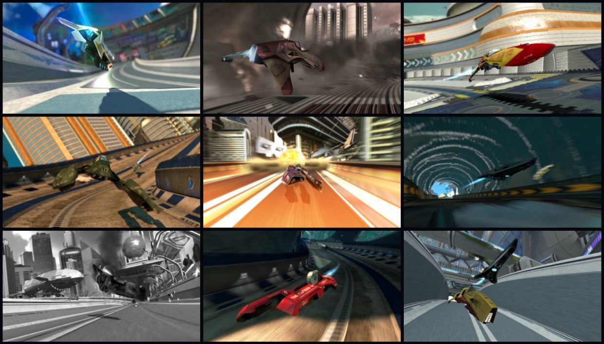 Wipeout In Game Images