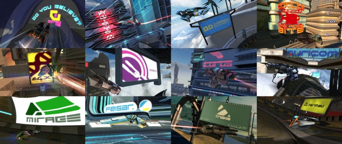 WipEout HD Collage by DewlShock
