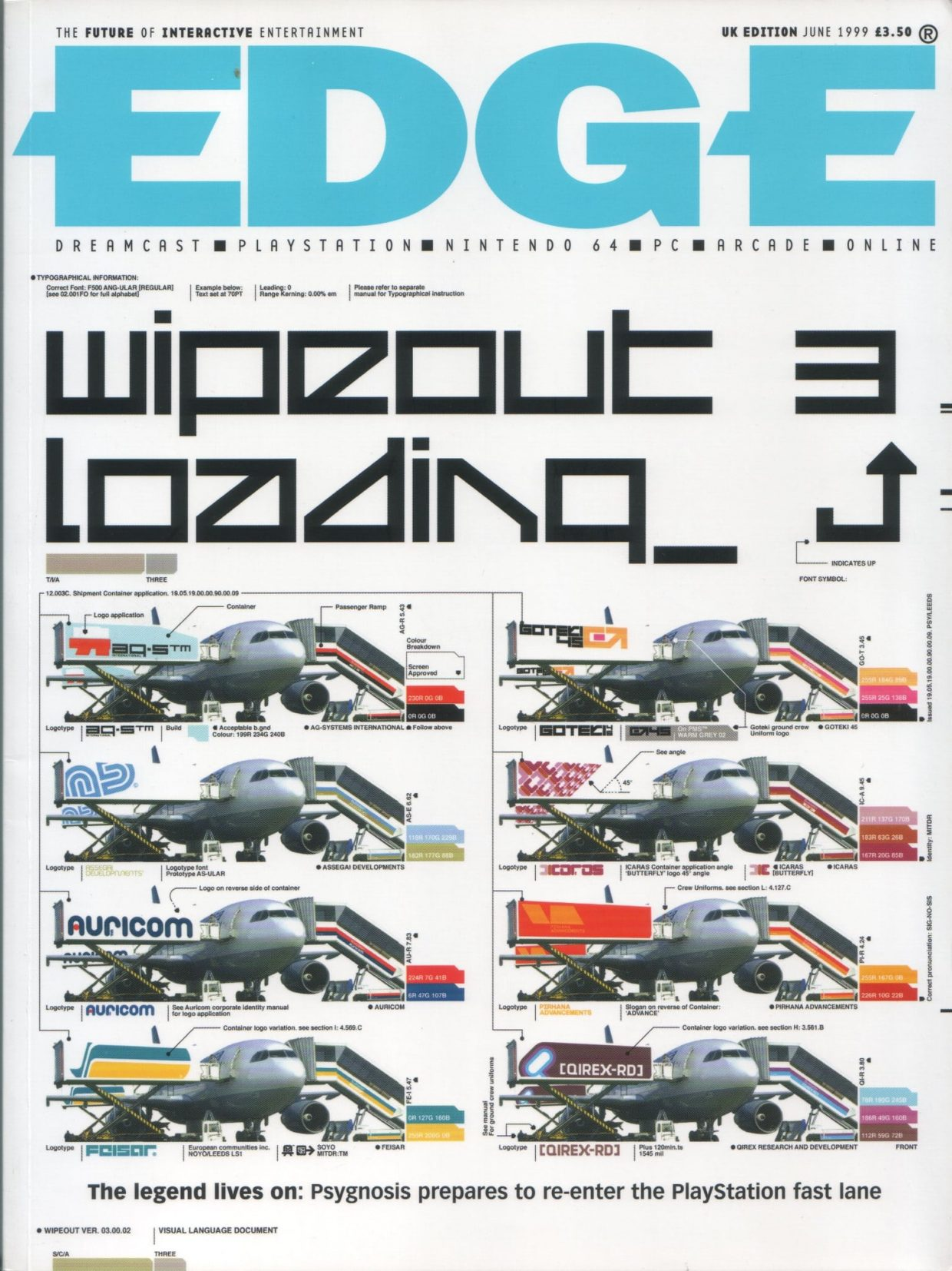 edge magazine cover for wipeout 3