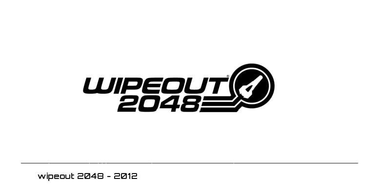 wipeout 2048 logo - 2012