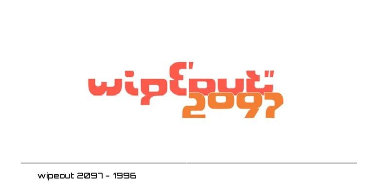 wipeout 2097 logo - 1996