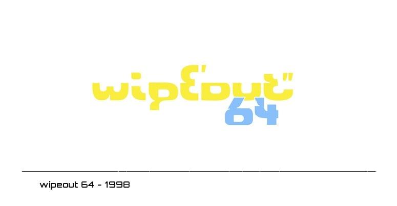 wipeout 64 logo - 1998