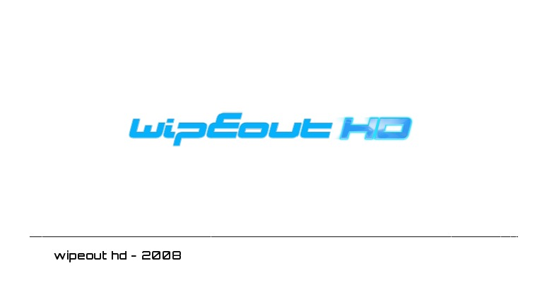 wipeout hd logo - 2008