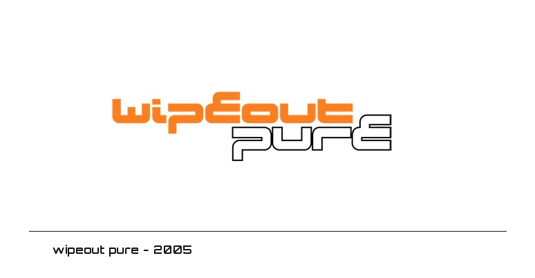 wipeout pure logo - 2005