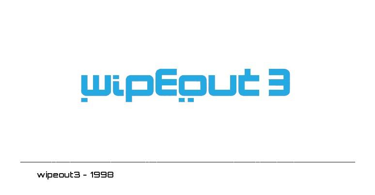 wipeout3 logo - 1998