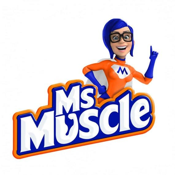 Mr Muscle FEMALE Gender Switch Iconic Household Brand Mascots Redesigned