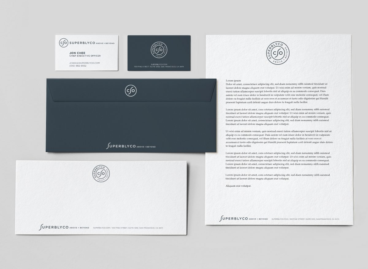 One Page Brand Logo Guidelines Template designed by The Logo Smith
