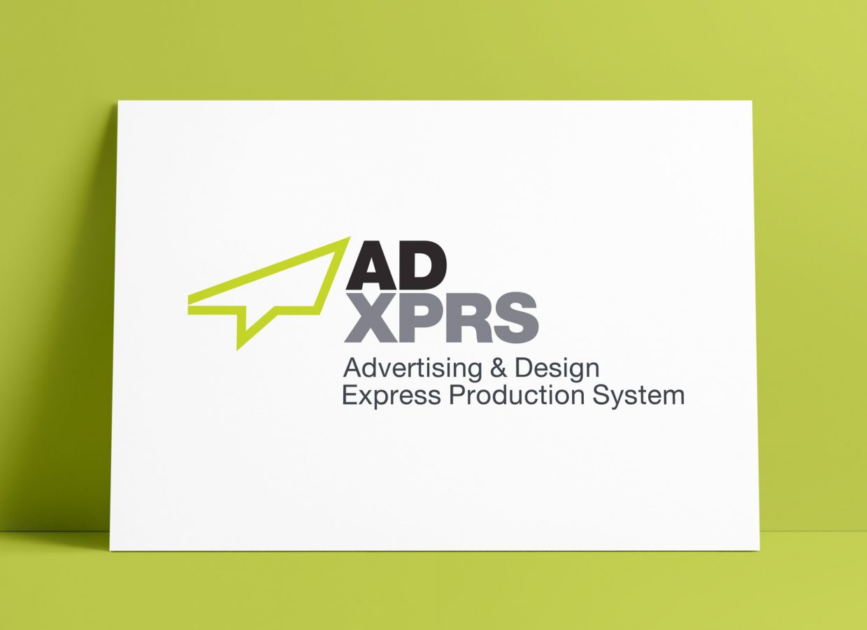 ADXPRS Logo MockUp Poster The Logo Smith
