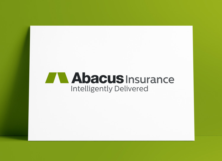Abacus Insurance Logo & Brand Identity Designed by Freelance Logo Designer The Logo Smith Freelance Logo Designer