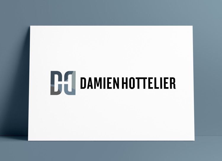 Damien Hottelier Logo Design MockUp Poster The Logo Smith