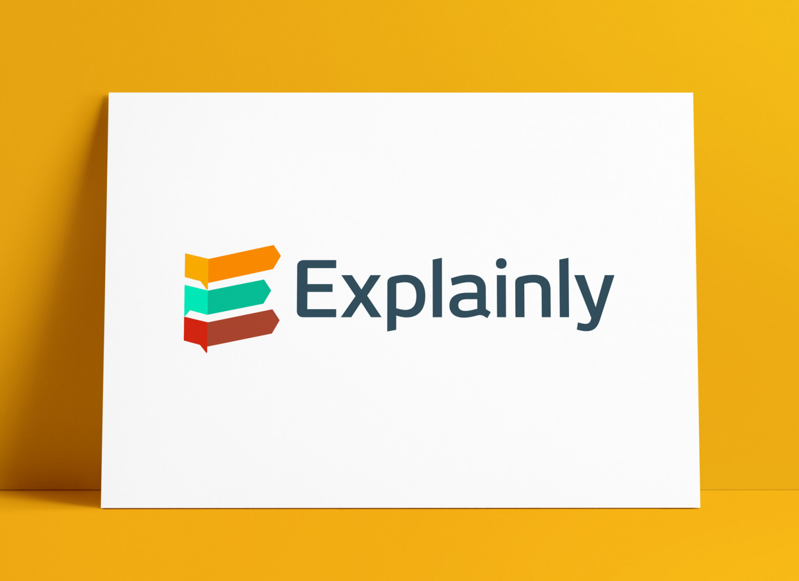 Explainly Explainer Videos Brand Mark Designed by Smith