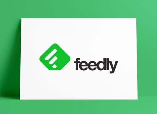 Feedly App Icon Logo & Brand Identity Design by The Logo Smith