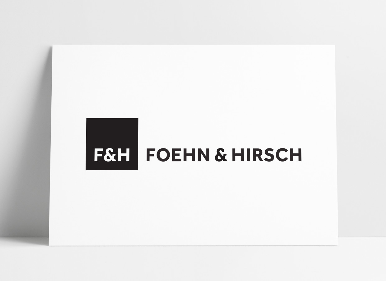Foehn & Hirsch Logo Brand Identity Designed by The Logo Smith