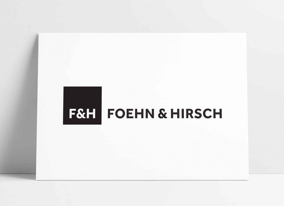 Foehn & Hirsch Logo Brand Identity Designed by The Logo Smith